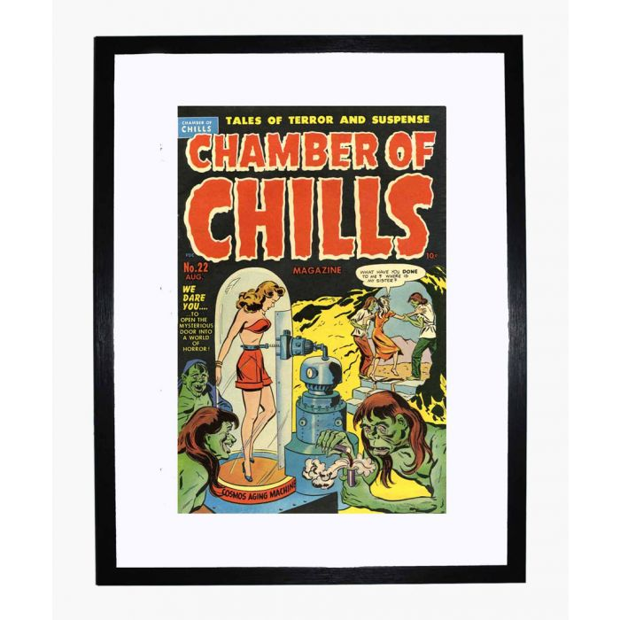 Image for Chamber of Chills 22 framed print