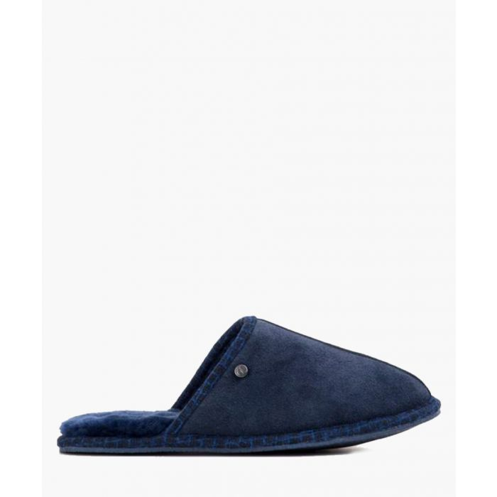 Image for Navy blue slippers