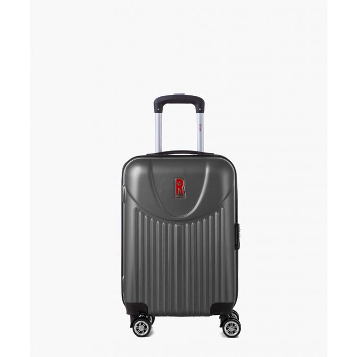 Image for 2pc Grey spinner suitcase