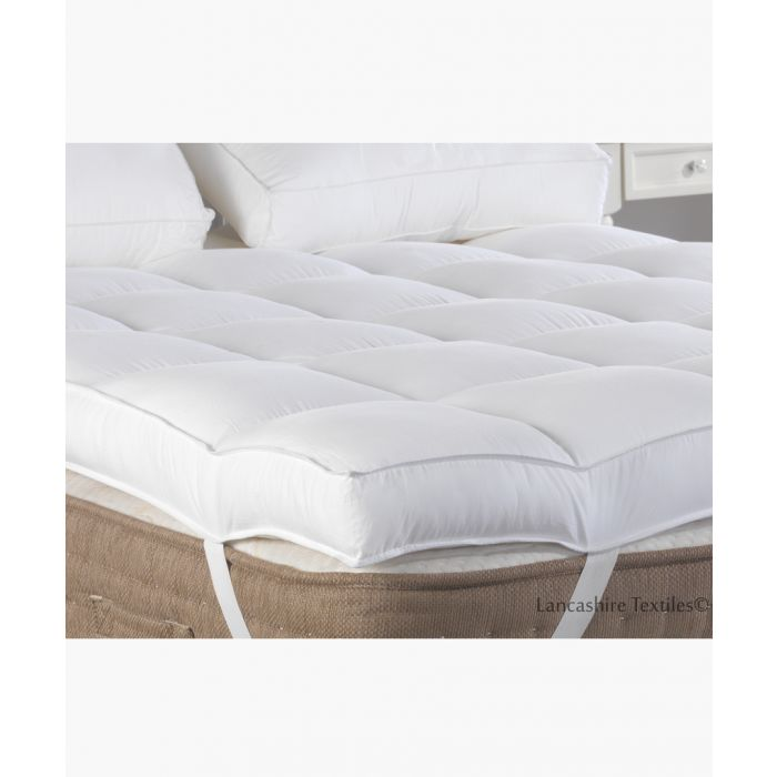 Image for Duck feather single mattress topper 7cm