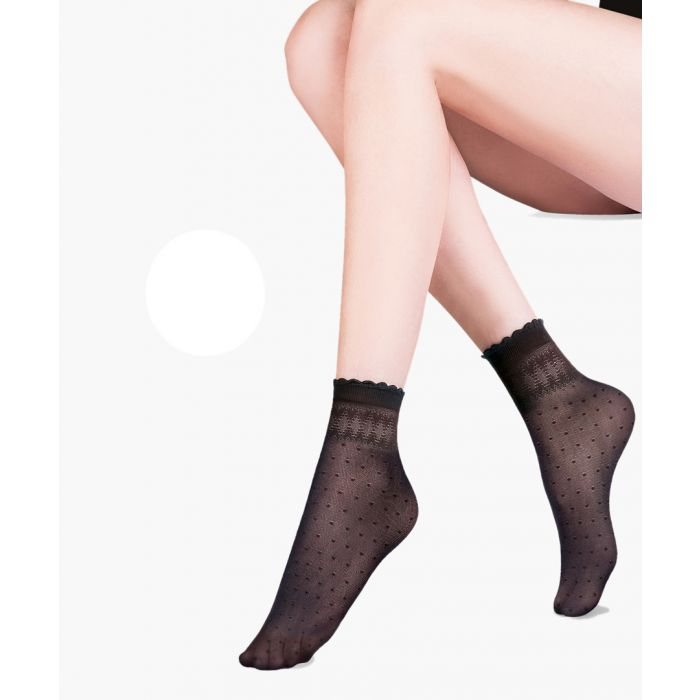 Image for Pia blanc ankle socks 20 denier