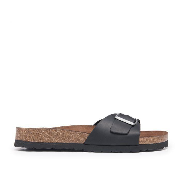 Image for Bio Sandals for Men Summer Black Shoes Castellanisimos