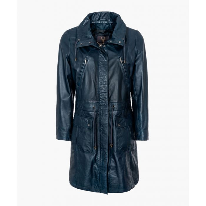 Image for Womens navy classic parka