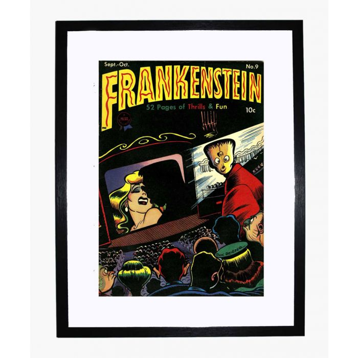 Image for Frankenstein 09 framed print
