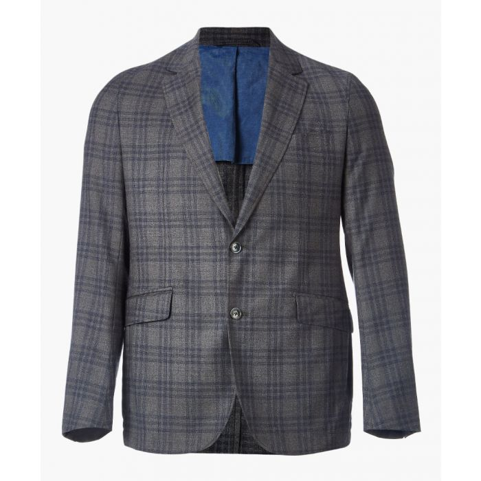 Image for Grey checked jacket