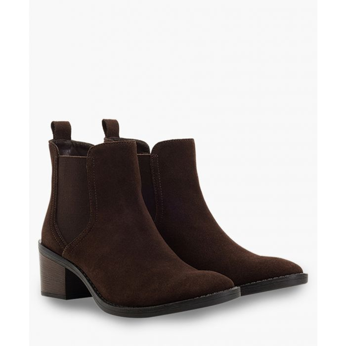 Image for Black suede chelsea boots