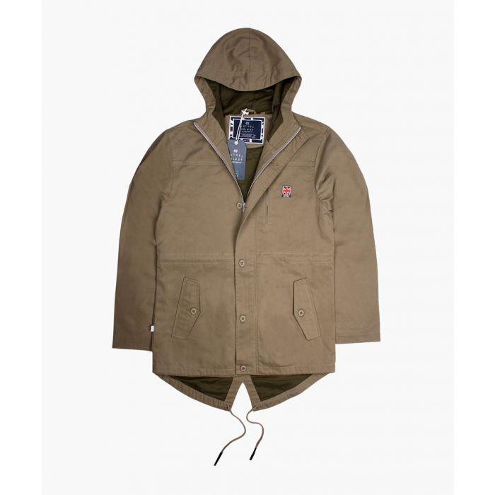 Image for Berwick Parker khaki jacket