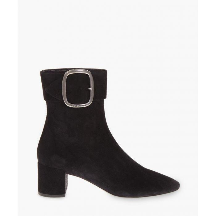 Image for Joplin black suede ankle boots