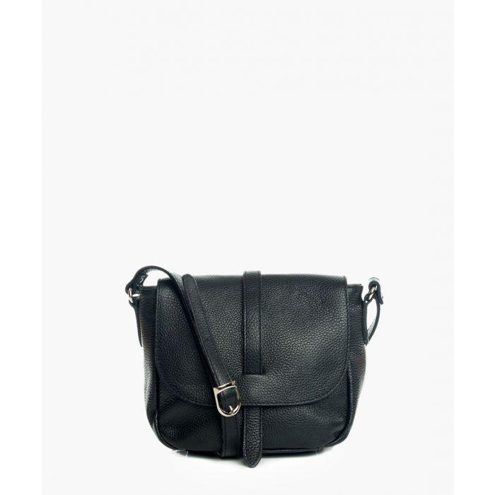 Image for Gorgone black leather crossbody