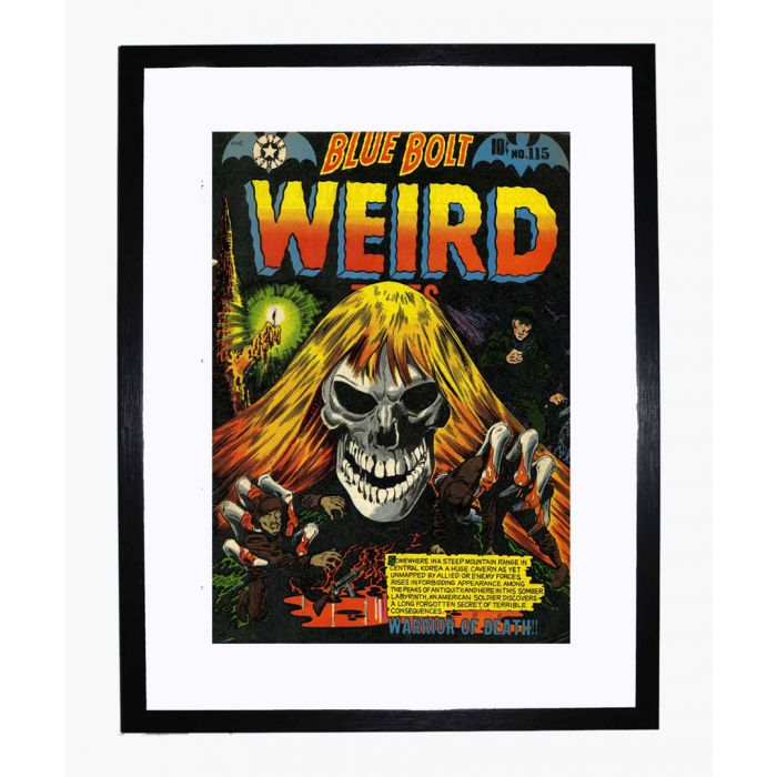 Image for Blue Bolt Weird 115 framed print