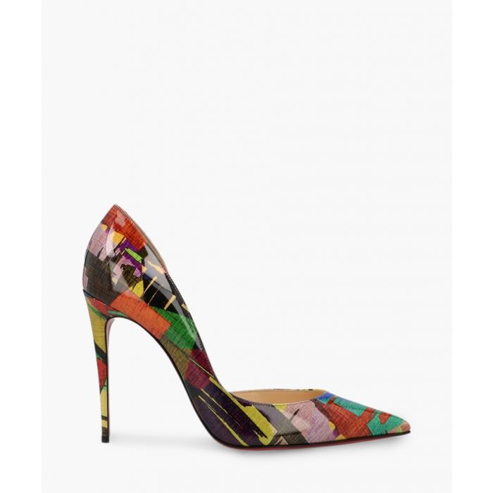 Image for Pigalle Follies 100mm multi-coloured patterned heels
