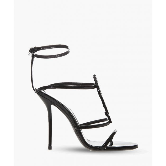 Image for Cassandra 110 black patent leather sandals