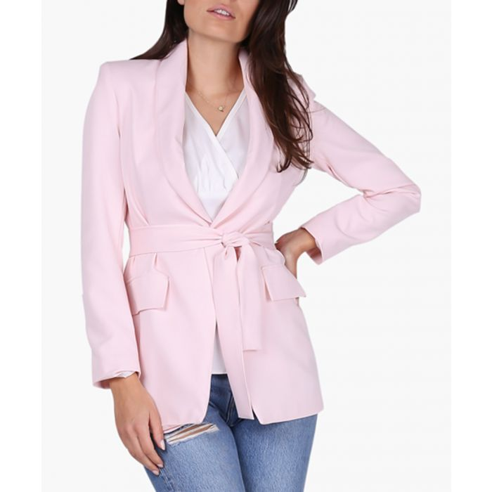 Image for Bright and pink woven jacket