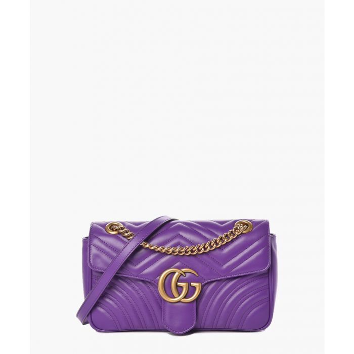 Image for GG Marmont matelasse purple crossbody