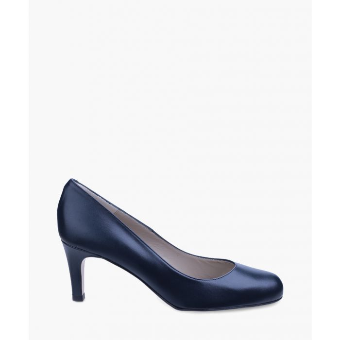 Image for Navy round heels