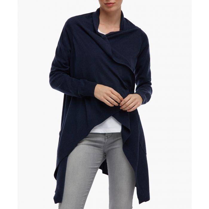 Image for Blue knit jacket