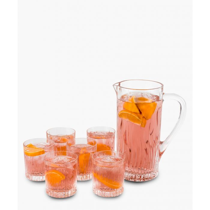 Image for Fire Crystal glass water juice cocktail Jug 1.2