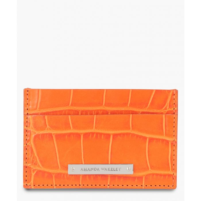 Image for Norton orange leather clardholder