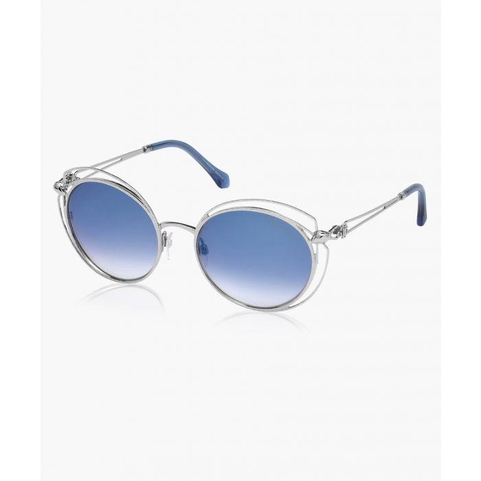 Image for Cascina silver-tone sunglasses