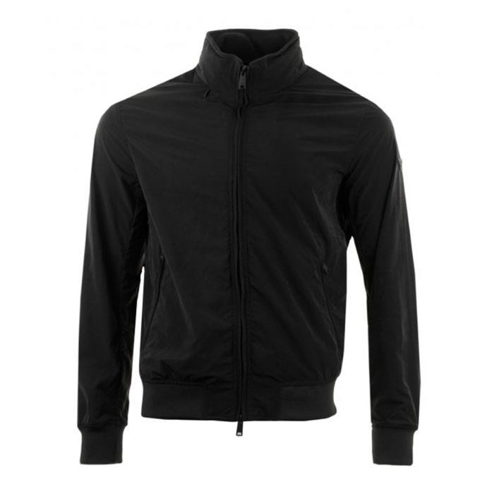 Image for Black zip-up jacket