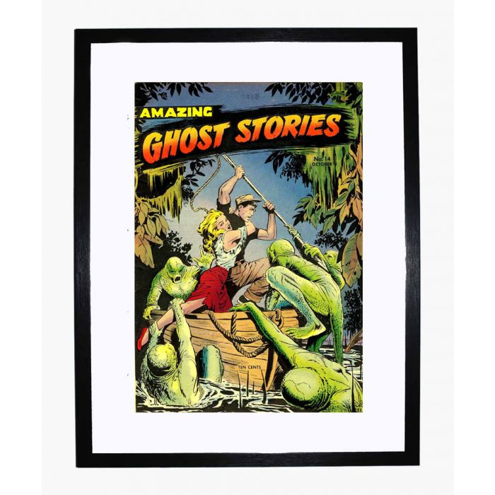 Image for Amazing Ghost Stories 14 framed print