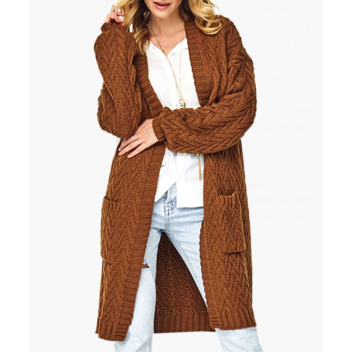 Image for Brown knitted jumper