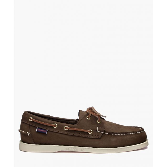 Image for Foresiders brown leather boat shoes
