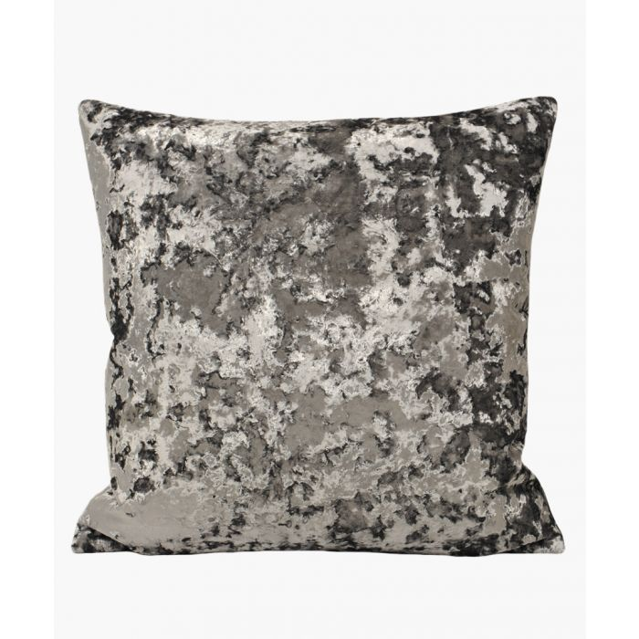 Image for Charcoal textured cushion