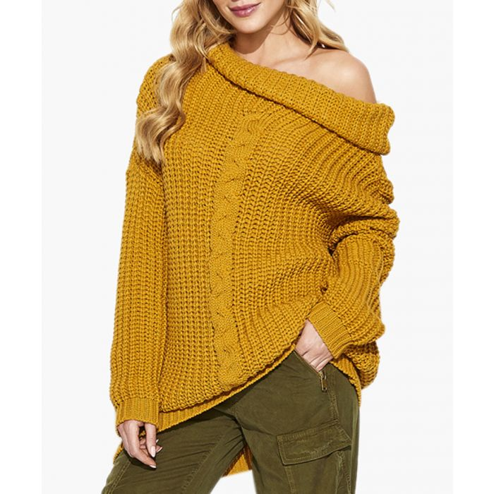 Image for Mustard knitted sweater