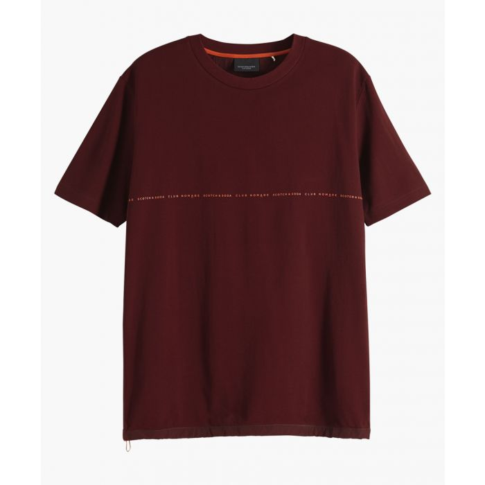Image for Nomade signature red pique t-shirt