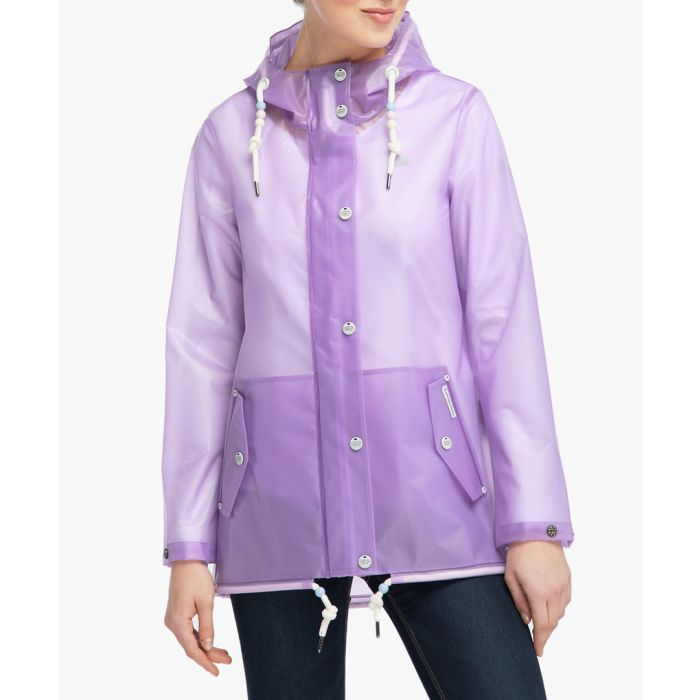 Image for Lilac raincoat