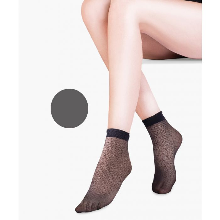 Image for Flo grey ankle socks 20 denier