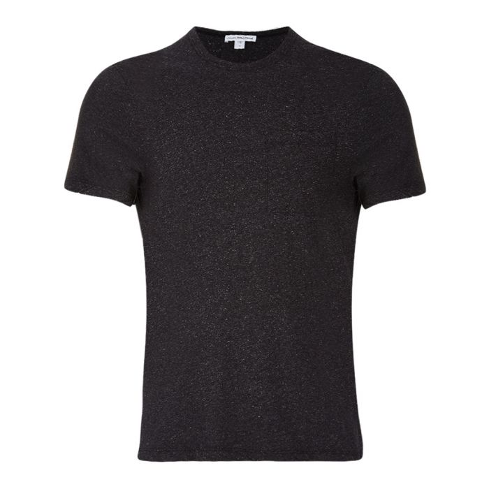 Image for Heather anthracite pure cotton T-shirt