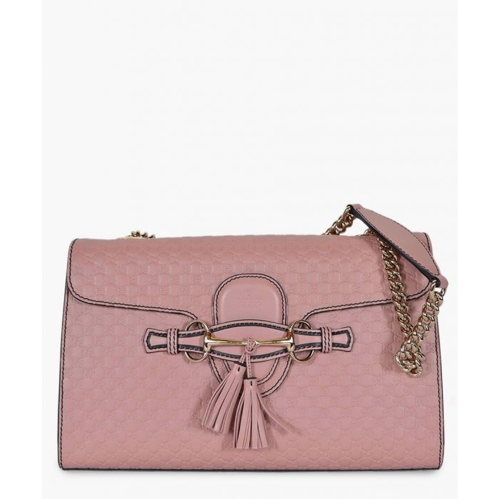 Image for Emily pink Guccissima leather shoulder bag