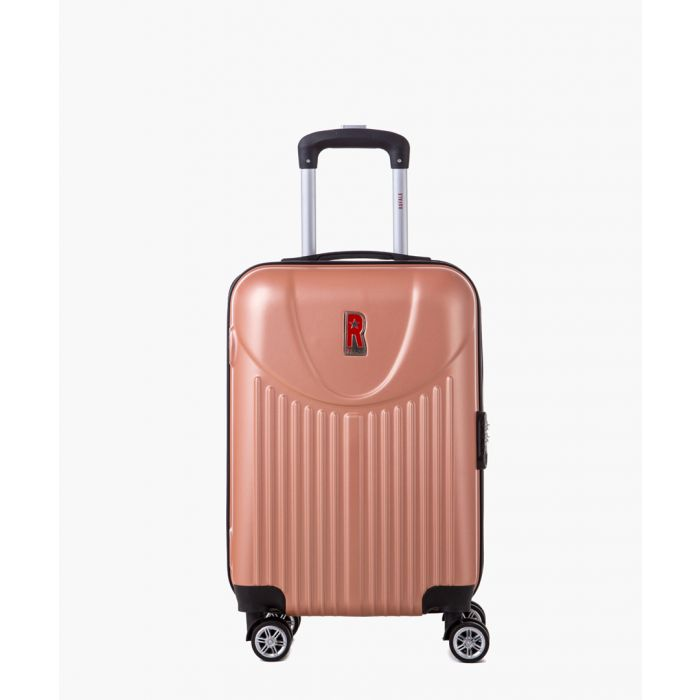 Image for 2pc Rose gold-tone spinner suitcase set