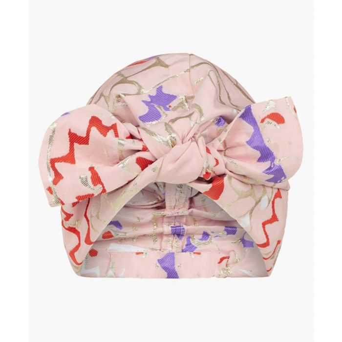 Image for Pink taffeta turban