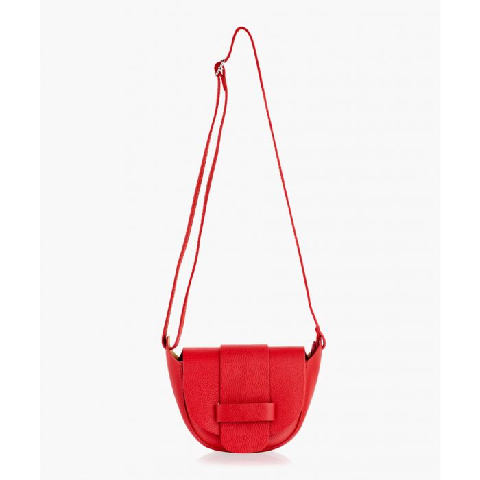 Image for Red small crossbody 8inch