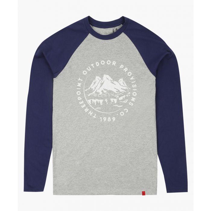 Image for Mountaing Range grey baseball T-shirt