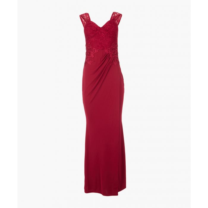 Image for Red maxi dress
