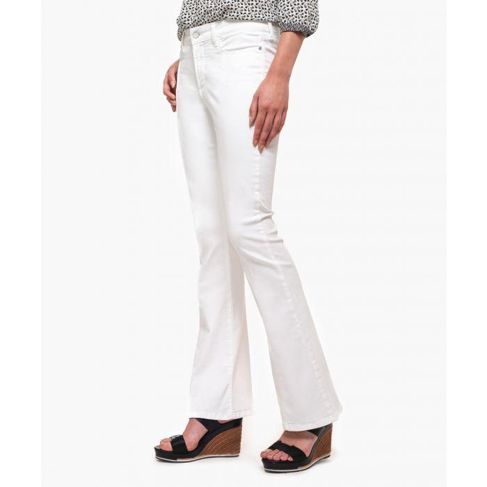 Image for Farrah white spotless flared jeans
