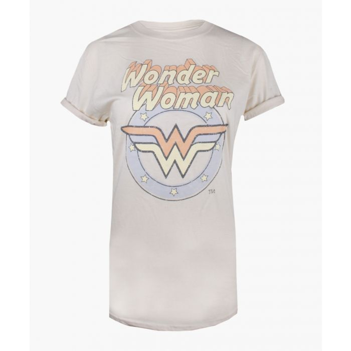 Image for Wonder Woman natural white pure cotton T-shirt
