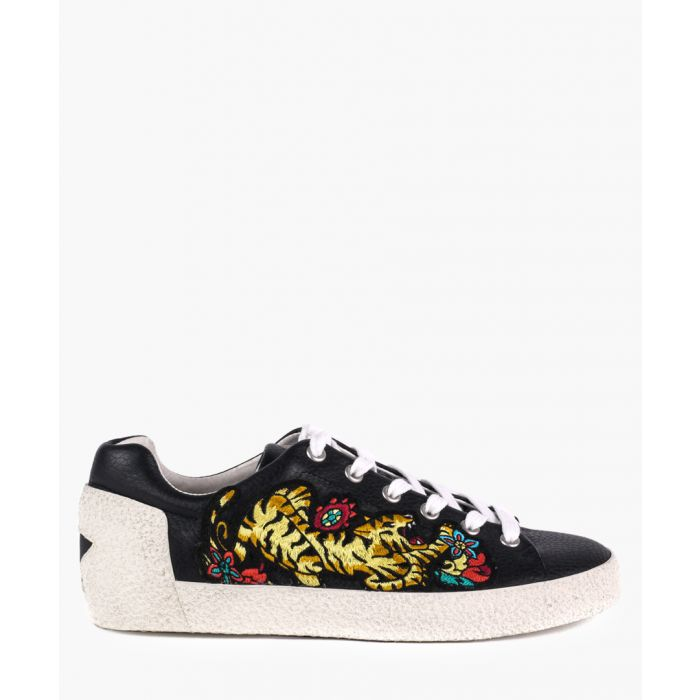 Image for Women's Niagara black leather sneakers