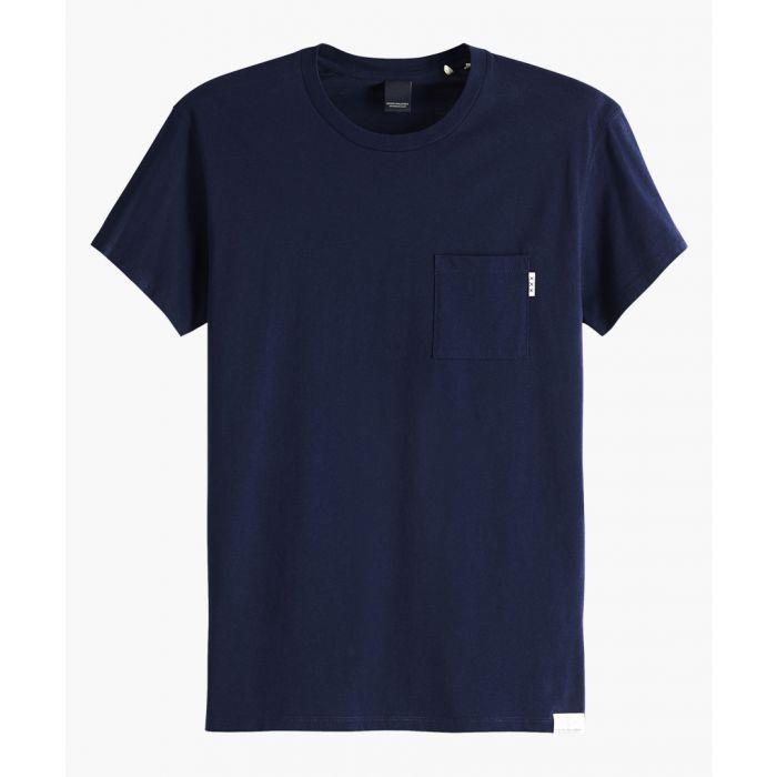 Image for Blauw navy T-shirt