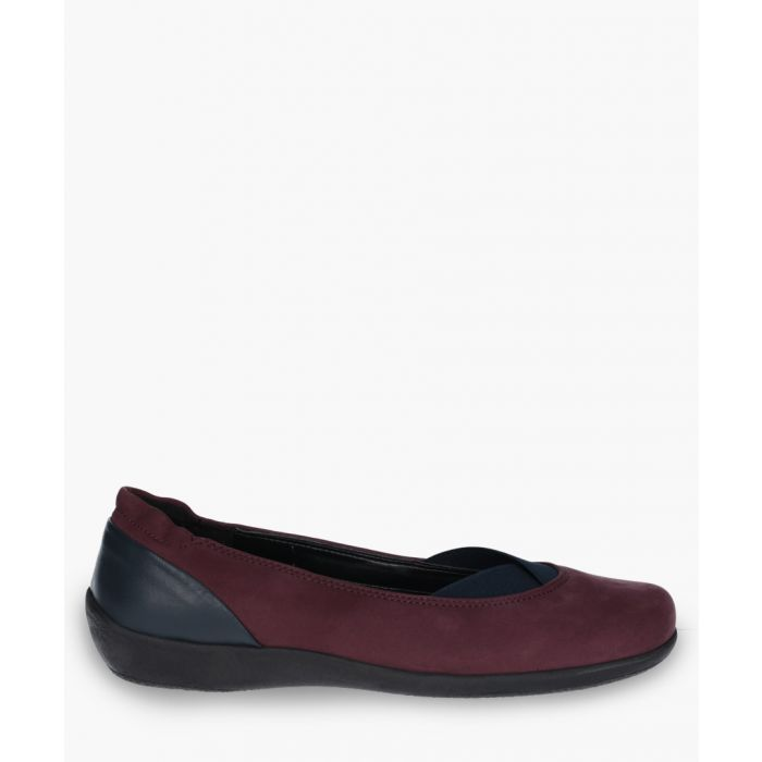 Image for Womens bordeaux slip-on shoes
