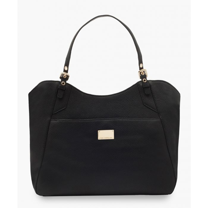 Image for Rieli black leather bag