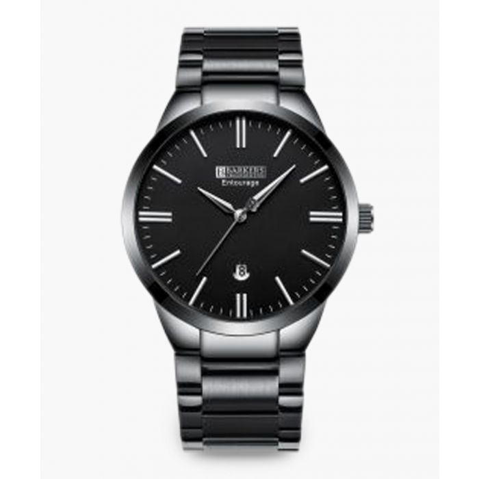 Image for Grey stainless steel link watch