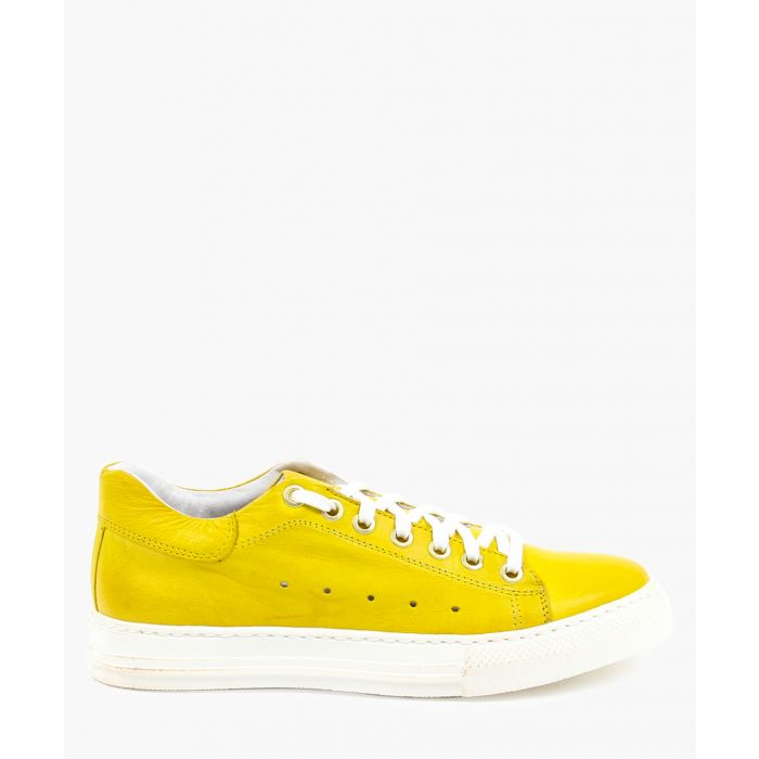Image for Yellow trainers