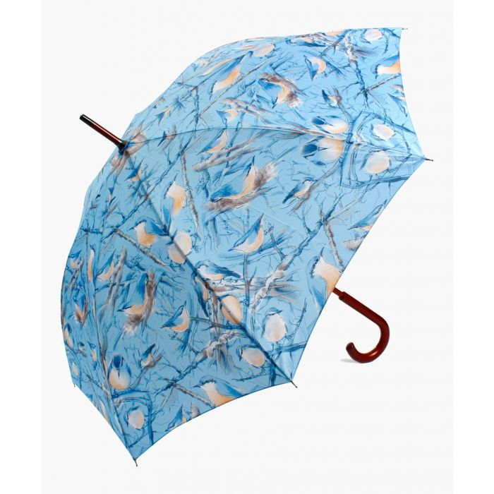 Image for Nuthatch blue printed umbrella