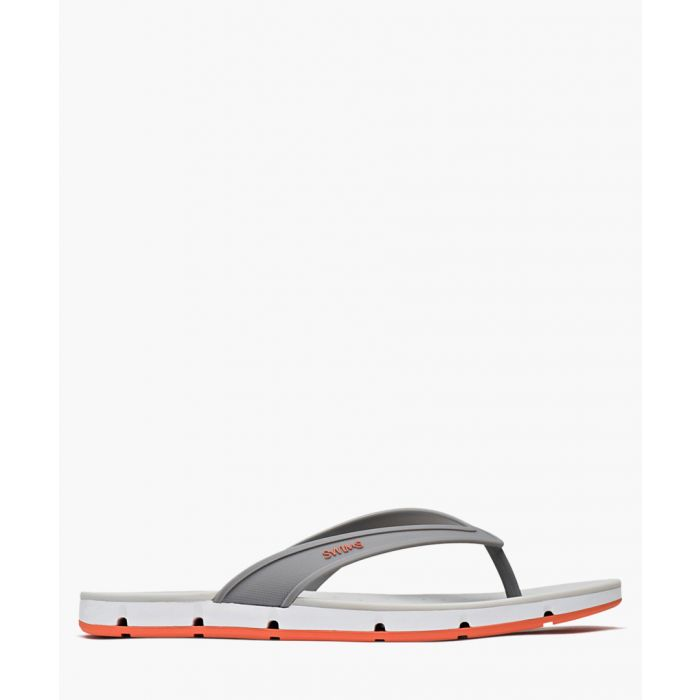 Image for Breeze grey and orange sandals