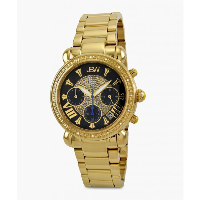 Image for Victory 18k gold-plated stainless steel watch